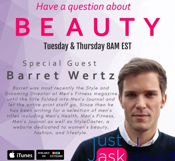 Movember and men's grooming tips with Barret Wertz
