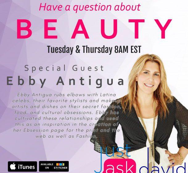 celebrity beauty secrets with Ebby Antigua
